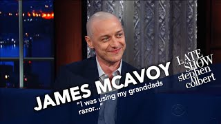 James McAvoy Had The Pleasure Of