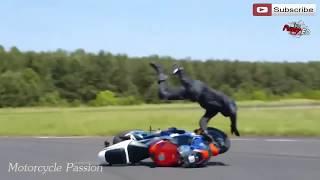 Motorcycle Crash Compilation 2016