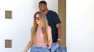 Khloe Kardashian And Tristan Thompson Go House Hunting Together - It