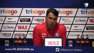 Die Pressekonferenz vor der Partie 1. FC Nürnberg - VfL Bochum 1848