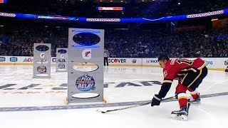 2018 NHL All-Star Skills Competition: Puck Control Relay