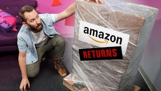 We Bought a MYSTERY Crate of Amazon.com Returns!