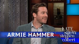 Armie Hammer Keeps Getting Asked To Autograph Peaches