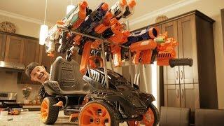 NERF WAR: FIDGET SPINNER GUN 2!