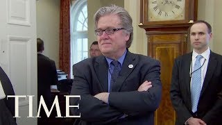 Steve Bannon Refuses To Answer Some Questions From House Russia Probe   TIME