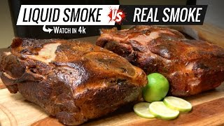Best way to Cook PULLED PORK Sous Vide - Liquid Smoke VS Real Smoke Pulled Pork