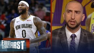 Nick and Cris react to DeMarcus Cousins signing 1-yr deal with Warriors   NBA   FIRST THINGS FIRST