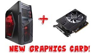 CyberPowerPC Gamer Ultra GUA 3400a Upgrade! Gtx 1050 Ti Graphics Card Replacemet!