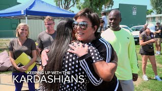 KUWTK | Kris Jenner Helps to Restore Watts Community Center | E!