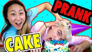 CAKE PRANK ON STEPHEN SHARER (I GOT HIM BACK)