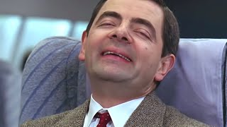 Flying with Bean | Funny Clips | Classic Mr. Bean