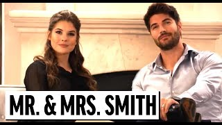 Mr. And Mrs. Smith PARODY | NICK BATEMAN, AMANDA CERNY