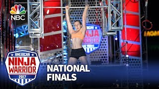 Allyssa Beird at the Las Vegas National Finals: Stage 2 - American Ninja Warrior 2017