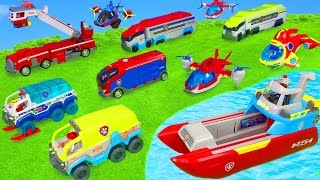 Paw Patrol Unboxing: Ultimate Rescue Fire Truck & Ryder