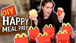 DIY Happy Meal Prep