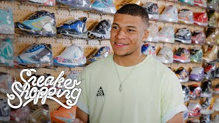 Kylian Mbappé Goes Sneaker Shopping With Complex