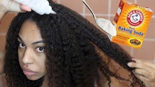 How to GROW HAIR Fast! Baking Soda & ACV Shampoo for Rapid Hair Growth & Hair Loss! Natural Hair