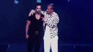 """Justin Bieber y Luis Fonsi cantan """"Despacito"""" (En Vivo)"""