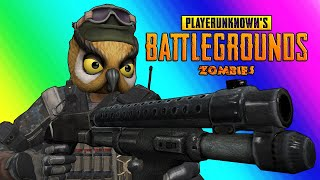 PUBG Zombies Funny Moments - Nogla Rage and Zombie Swarm Panic!
