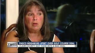 Pasco neighbors upset over golf course deal