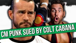 CM Punk Being Sued For Over $1 Million By Colt Cabana