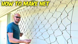 DIY Easy Net!