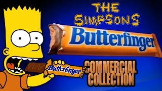 The Simpsons - Butterfinger Commercial Collection (1989 - 2001)