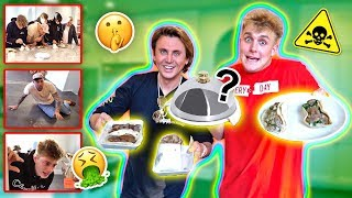 I ACTUALLY PUT COCKROACHES IN TEAM 10's FOOD... {SAVAGE PRANK}