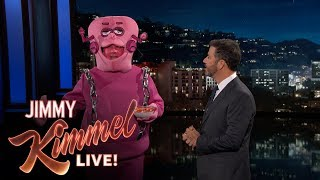 Frankenberry Crashes Jimmy Kimmel Live