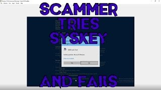 Scammer Realizes I
