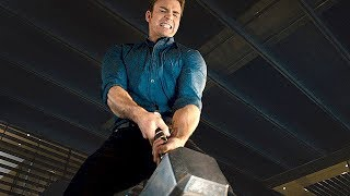 "AVENGERS 2 Age of Ultron  Movie Clip ""Lifting Thor"