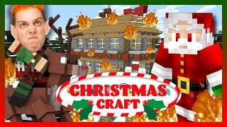 EVIL SANTA SHOWDOWN - FINALE! (Maricraft:ChristmasCraft pt 8)