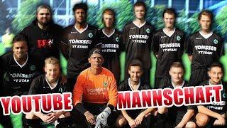 ERSTES Spiel der YOUTUBE MANNSCHAFT | 15 TORE uvm...