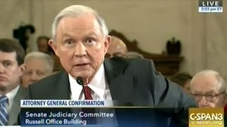Jeff Sessions Attorney General Confirmation Hearing Part 2