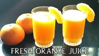 How To Make Fresh Orange Juice In A Blender-Quick & Easy Way To Make Juice-DO AT HOME