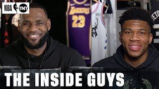 NBA All-Star Draft with LeBron & Giannis   NBA on TNT