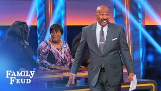 I say! Wait... WHAT? | Celebrity Family Feud