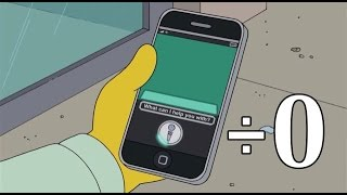 Asking Siri 0 divided by 0