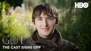 Game of Thrones | The Cast Signs Off (HBO)