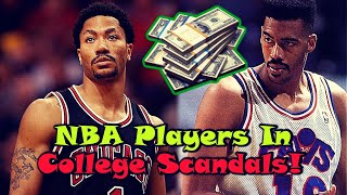 5 NBA Players Involved In COLLEGE SCANDALS!
