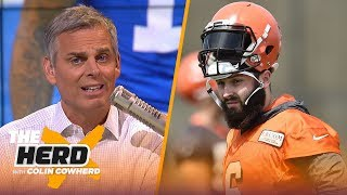 Baker Mayfield & OBJ had choice words for Colin Cowherd — here is his response | NFL | THE HERD