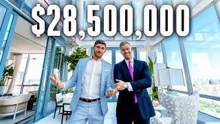 NYC Apartment Tour: $28.5 MILLION LUXURY APARTMENT