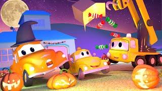 Toms Autowaschanlage wird zur GEISTERBAHN 💀 🎃 Halloween in Car City 👻 Cartoons für Kinder
