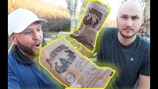 US Military MRE Taste Test (meal ready to eat)