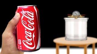 EXPERIMENT - Vakuum VS Bilou Coca Cola & Schleim 🍎