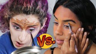 Artist Vs. Beauty Lover • Makeup Challenge