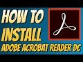 How To Install Adobe Acrobat Reader DC F...mp3