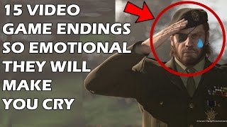 15 Video Game Endings So EMOTIONAL They Will Make You CRY