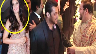 Salman Khan IGNORES Katrina Kaif At Neil Nitin Mukesh Wedding Reception