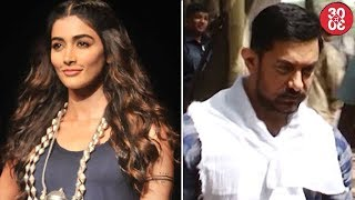 Pooja Hedge Approached For 'Race 3' | Mrunal Thakur Rejects Aamir's 'Thugs Of Hindostan'